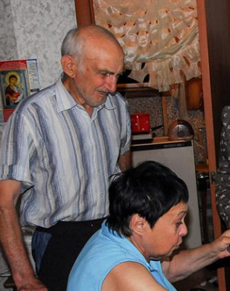 О наших подопечных пенсионерах из Горловки