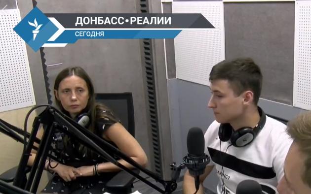 Разговор о гражданских заложниках в єфире Донбасс. Реалии